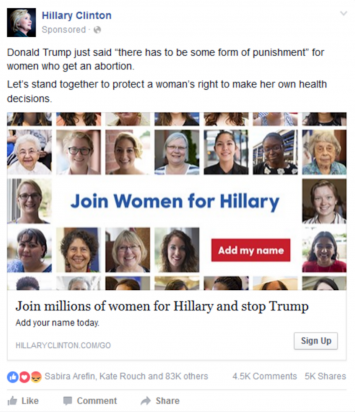 """Join Women for Hillary"""